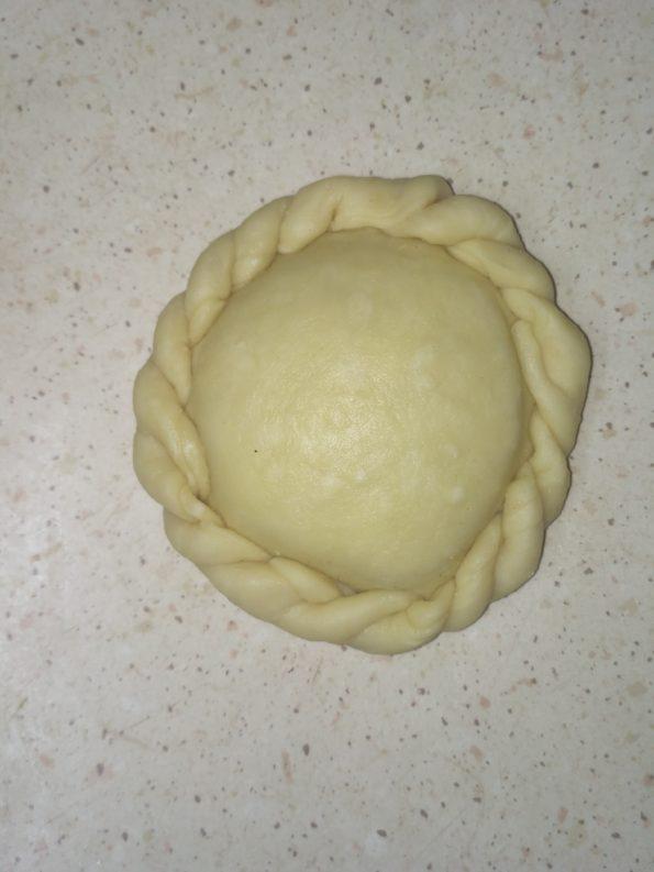 пирожок готовый к запеканию