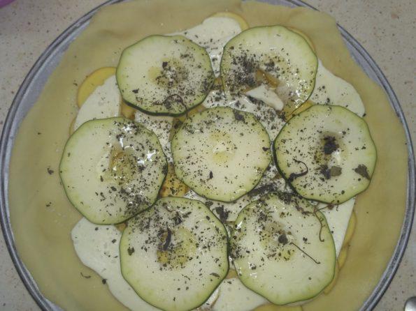 приготовление вегетарианского пирога