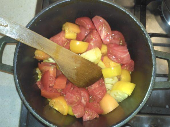 готовим соус для вегетарианского шашлыка