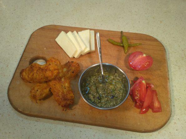 ингредиенты для вегетарианского донера