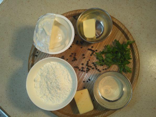 Ингредиенты для хачапури по аджарски