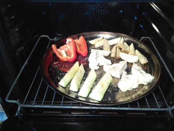 Запекаем овощи