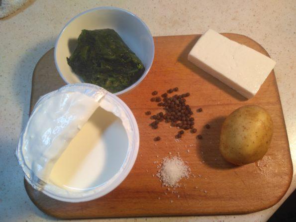 Ингредиенты для вегетарианского супа