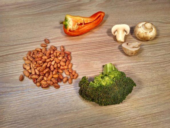 Ингредиенты для фасоли