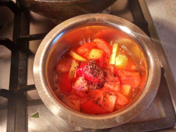 Готовим томатный крем суп