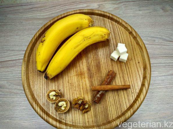 Ингредиенты для банан в карамели