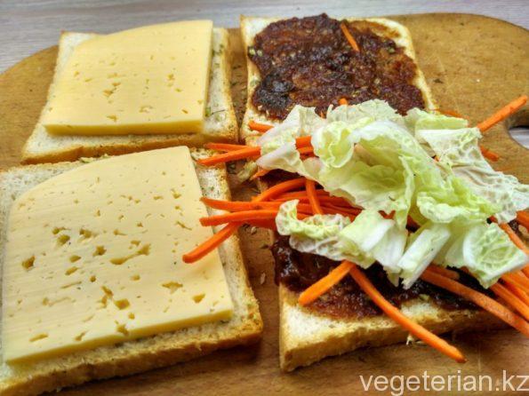 Готовим вегетарианские сэндвичи