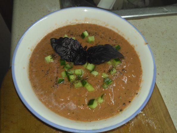 Гаспачо. Холодный томатный суп