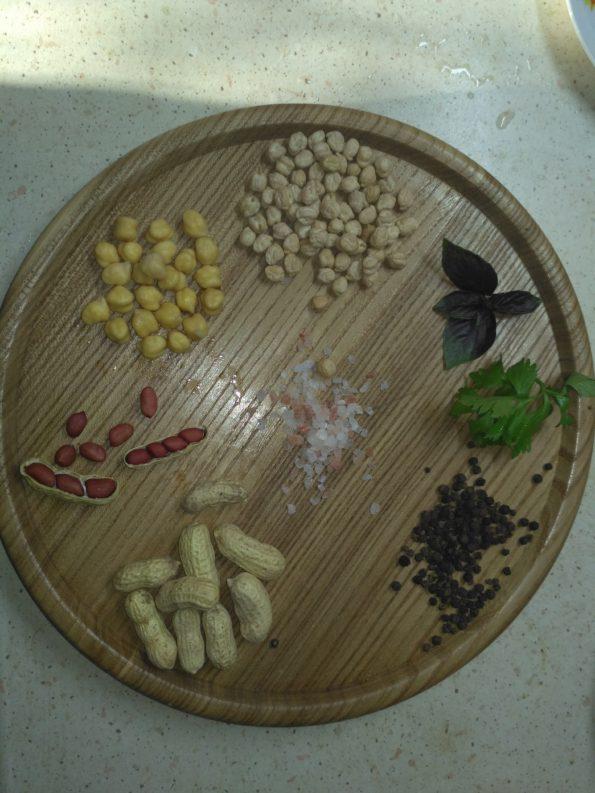 ингредиенты для Хумуса