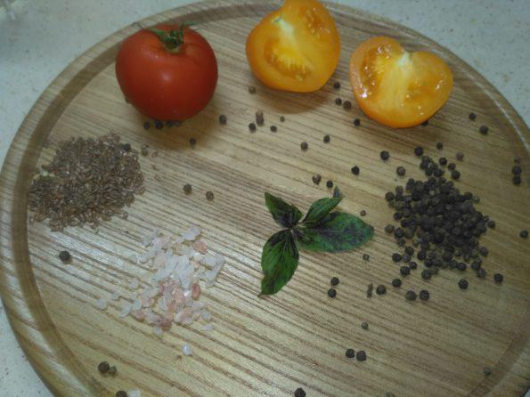Ингредиенты для сыроедческого хлеба