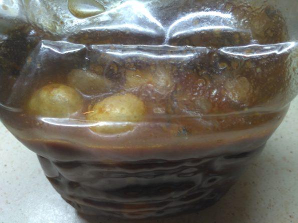 Вегетарианский шашлык из грибов