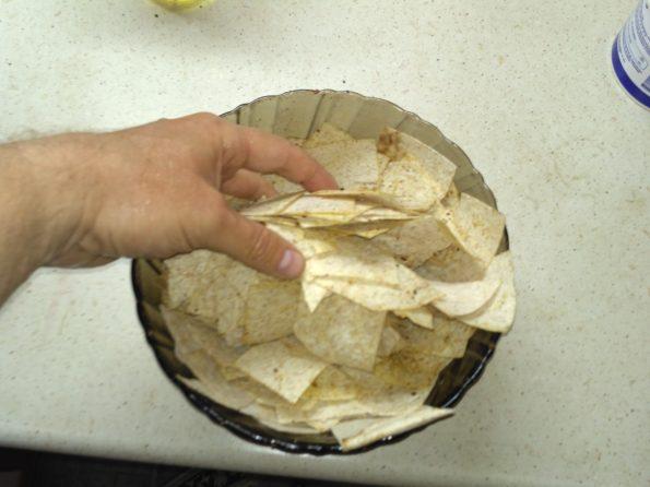 готовим домашние чипсы из лаваша