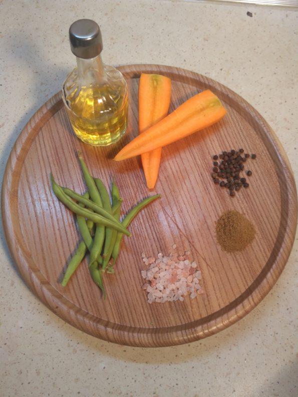 Ингредиенты для зеленого лобио