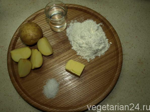 Ингредиенты для приготовления вареников
