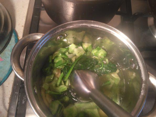 Готовим веганский крем суп с брокколи