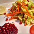 Свежий салат из пекинской капусты
