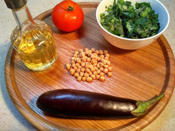 Ингредиенты для махабринджала