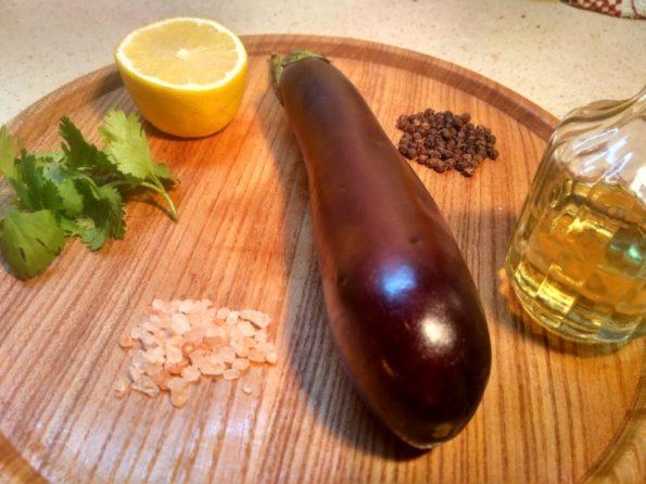 Ингредиенты для приготовления мелидзано