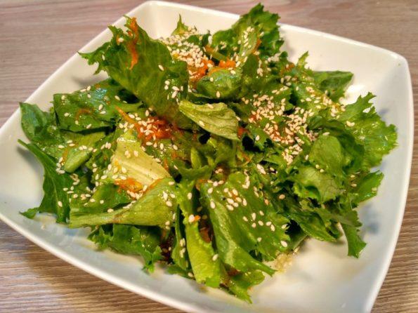 Свежий салат с медовой заправкой