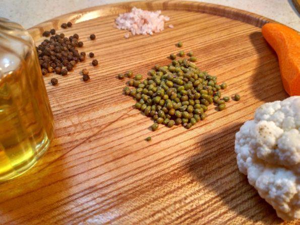 Ингредиенты для приготовления маша