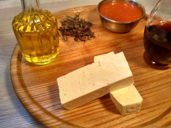 Ингредиенты для вегетарианского шашлыка