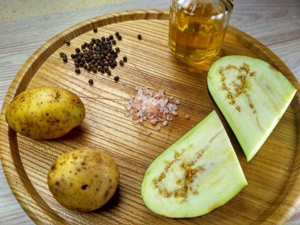 Ингредиенты для приготовления зраз