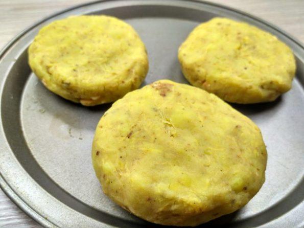 Готовим вегетарианские зразы из картофеля