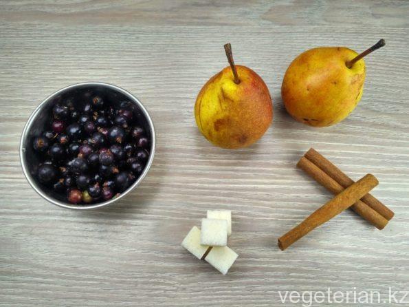 Ингредиенты для приготовления груши в сиропе