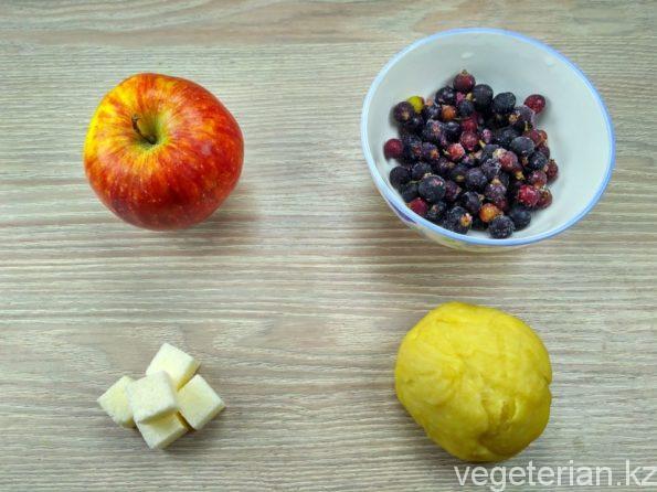 Ингредиенты для приготовления сладкого пирога