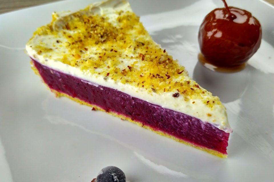 Смородиновый сладкий веганский пирог