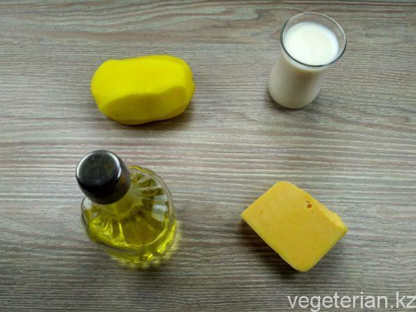 Ингредиенты для приготовления сырного соуса