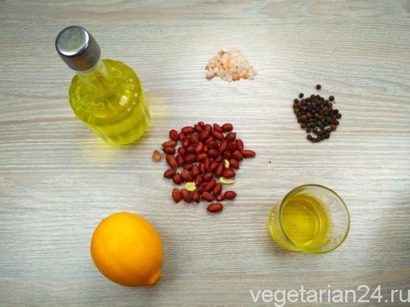 Ингредиенты для китайского салата