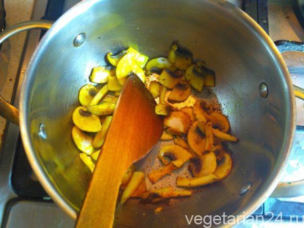 Готовим грибной соус
