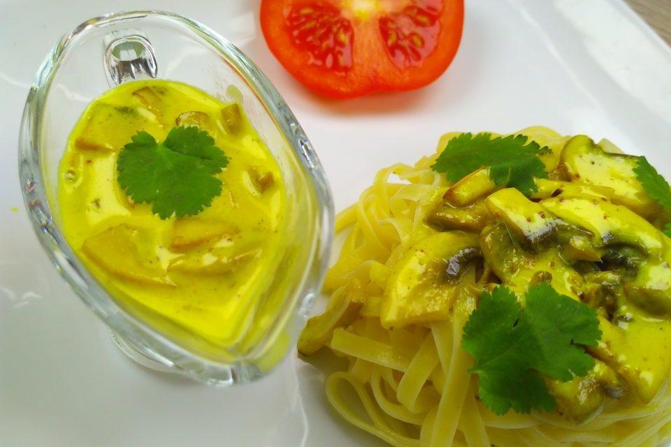 Грибной соус со сливками