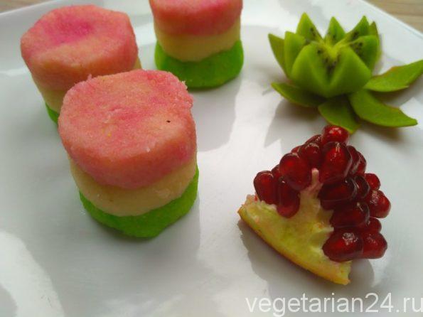десерт из кокосовой стружки