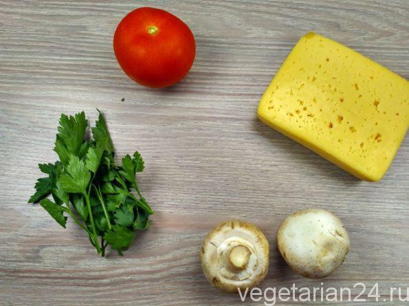 Ингредиенты для вегетарианской закуски