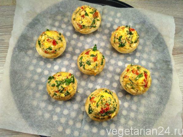 Готовим вегетарианскую закуску