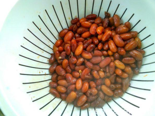 Готовим фасоль для лобио