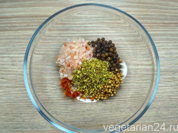 Готовим вкусную соль
