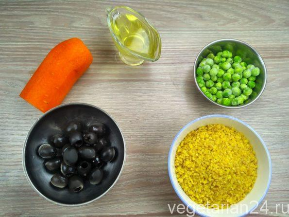 Ингредиенты для плова