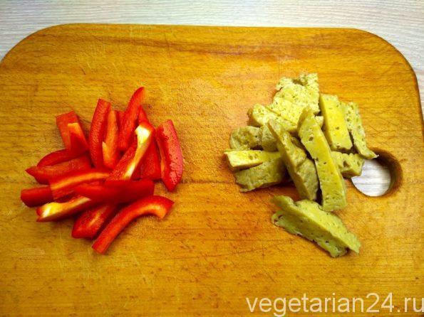 Готовим веганский салат хе