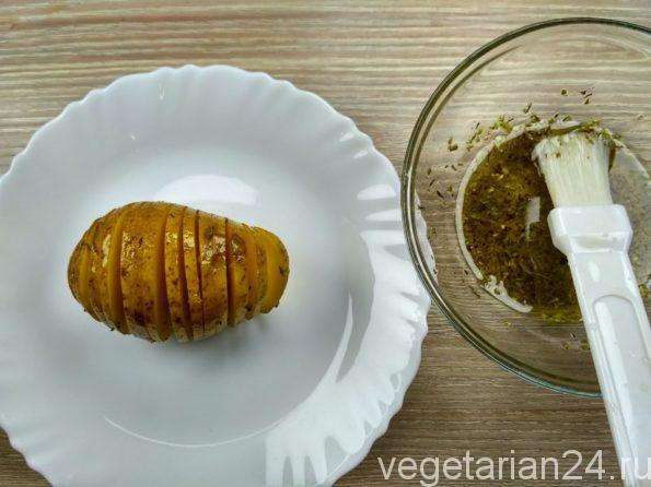 Готовим закуску из картофеля