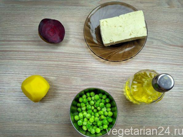 Ингредиенты для приготовления салата