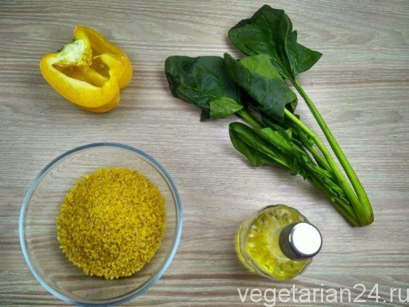 Ингредиенты для приготовления веганских котлет