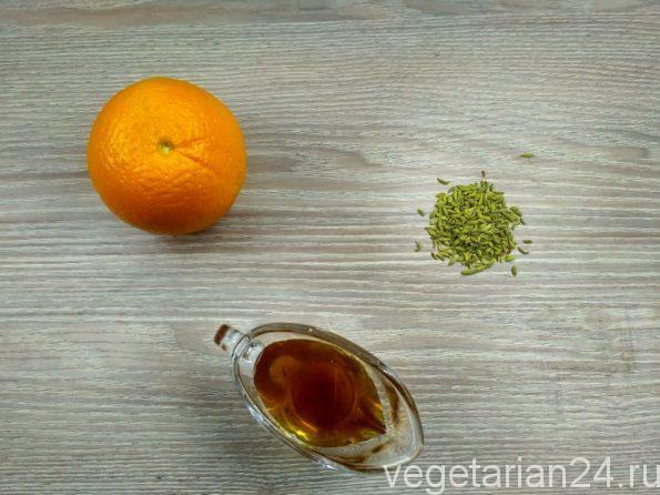Ингредиенты для приготовления фенхелевого чая