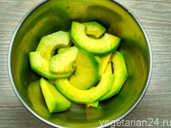 Авокадо для закуски