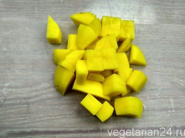 Готовим овощное рагу с тыквой