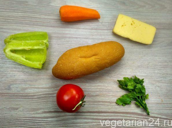 Ингредиенты для приготовления горячей закуски