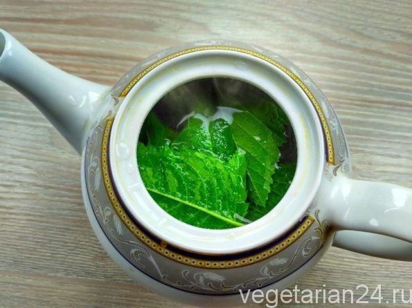 Готовим чай из манарды
