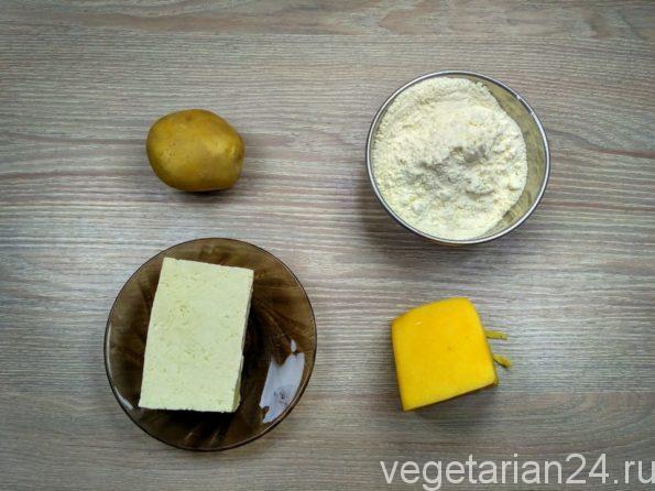 Ингредиенты для ленивых хачапури